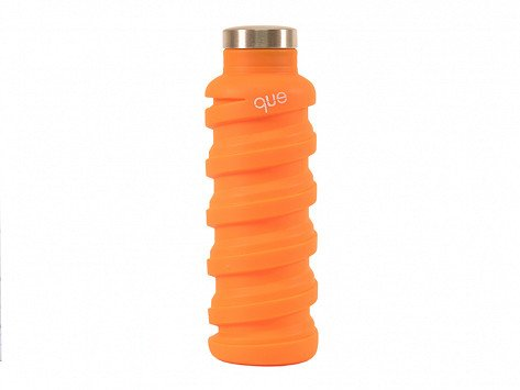 que - Collapsible Silicone Water Bottle