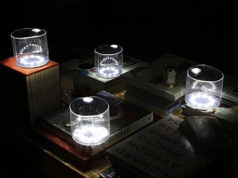 Clear Portable Solar Light By Mpowered