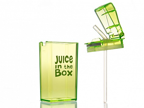 Reusable Drink And Juice Box Container Is Bpa Free