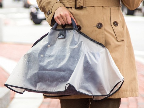 impermeable bolso