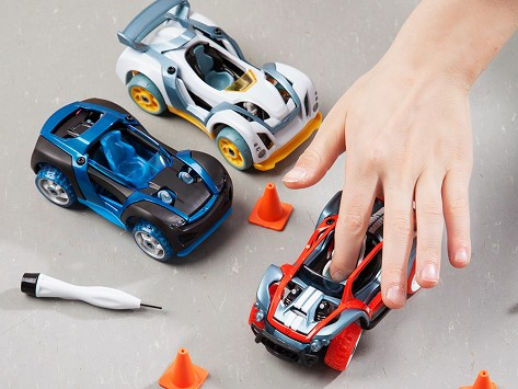 Modarri: Finger-Powered Cars