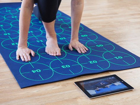 Extra Large Yoga Mat By Yoga By Numbers