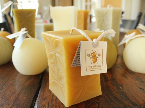 The Bee Man - Beeswax Candle Collection