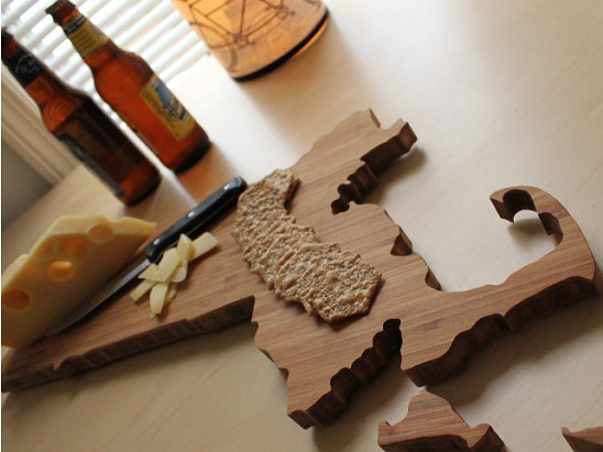 AHeirloom - State-shaped cutting boards
