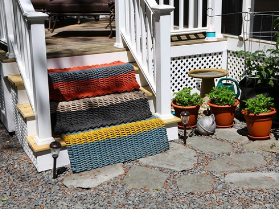 The Right Mat - Reclaimed Fishing Rope Doormat