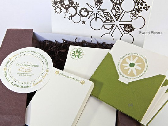 Lo-Lo Paper Treats - Personalized Stationery Gift Set