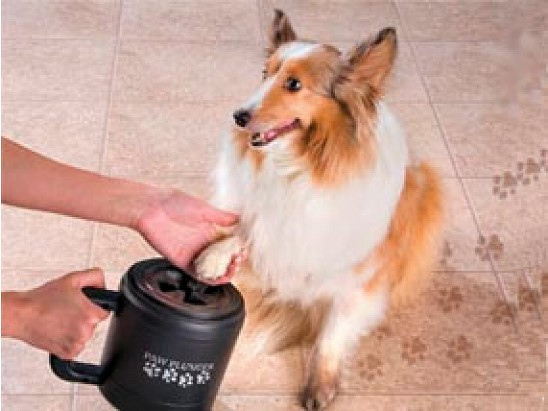 PawPlunger- Portable Dog Paw Cleaner or Car Wash for your Dogs Paws