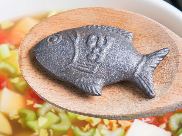 Organic iron source by lucky iron fish for Lucky iron fish snopes