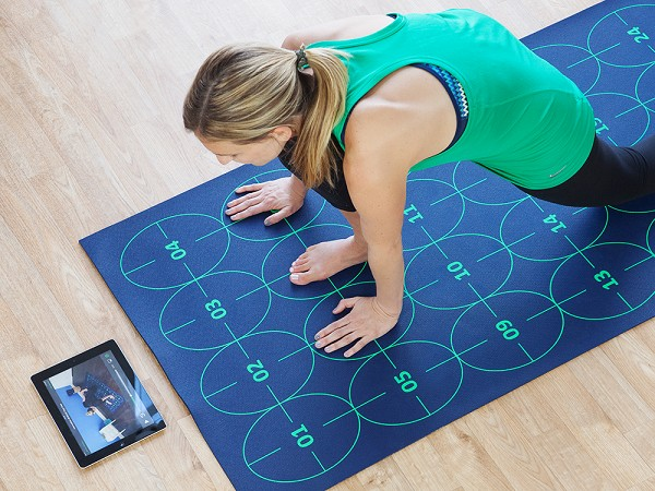 Yoga Mat For Beginners By Yoga By Numbers