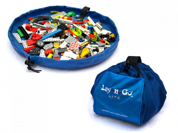 Lay N Go Kids Play Mat Toy And Lego Storage Bag