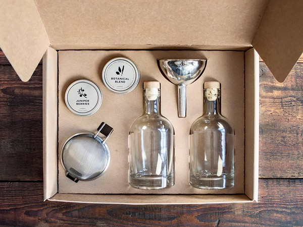Top Gifts for Men, The HomeMade Gin Kit