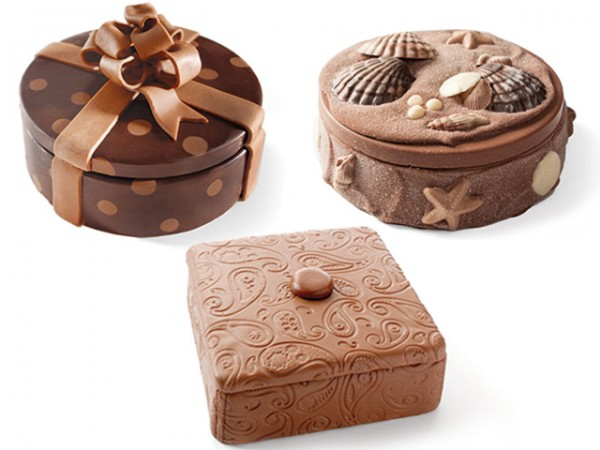 3 chocolate gift boxes
