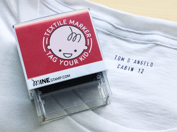 mine stamp custom clothing stamp With clothing label stamp
