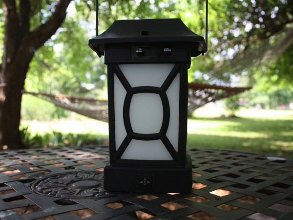 mosquito repellent patio lantern and portable unit from thermacell. Black Bedroom Furniture Sets. Home Design Ideas