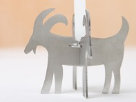 Lumanella: Animal Candle Holders with candles