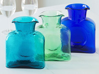 Blenko Glass Company: Double Spouted Pitcher