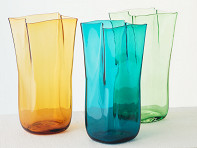 Blenko Glass Company: Paper Bag Vase