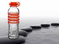bottlesUp: Glass Water Bottle
