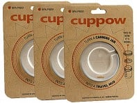 Cuppow: Wide-Mouth Set of 3