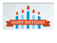Email Gift Card: Happy Birthday