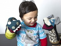 Cate & Levi: Recycled Wool Puppets