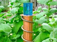 "World's Coolest: 24"" Stake Rain Gauge"
