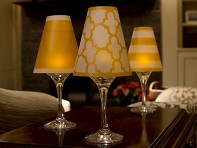 di Potter: Wine Glass Shades - 6 pack
