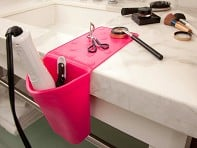 Hot Iron Holster:Heat Resistant Silicone Holder