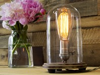 Southern Lights Electric Co.: Bell Jar Table Lamp