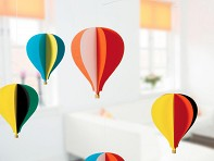 Flensted: Five Balloon Mobile