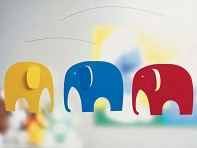 Flensted: Elephant Party Mobile