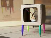 Makers Toolbox: Scribbler The Drawing Robot Kit