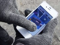 Glove.ly: Solid Unlined Touchscreen Gloves