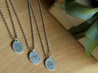 Lauren Wimmer: Sterling Silver Charm and Necklace Set