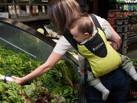 Bitybean: Minimalist Child Carrier
