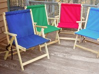 Blue Ridge Chair Works: The XL Deck Chair