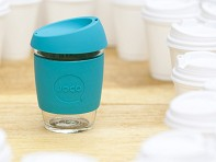 Joco: 12oz Reusable Glass Cup