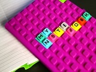 Kristins Gifts: WAFF Notebook & Alphabet Cubes