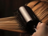 The Groove Elliptic: Combination Bristle Styling Brush