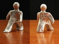 "Tamara Hensick Designs: Set of 2 ""Keep Going"" figurine"