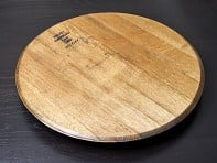 The Oak Barrel Company: Wine Barrel Head Lazy Susan