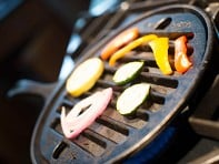 Pan Grill-it: Cast Iron Grill Insert & Griddle Set