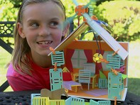 Roominate: DIY Wired Dollhouse - Deluxe Building Set