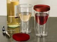 Vino-2-Go: Insulated Wine Tumbler Set of 2