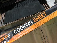 Cookina: Barbecue Cooking Sheet