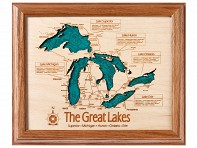 Lake Art: Wall Art (Single Layer) -  8 x 10""