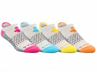 Bombas: Four Pack - Ankle Socks