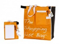 The Shopping List Bag: Reusable Grocery Bag
