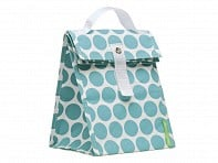 LunchSkins: Aqua Dot Lunch Tote