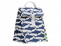 LunchSkins: Navy Shark Lunch Tote